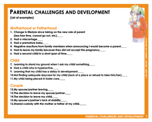 Parental Challenges and Development | For Me As A Parent
